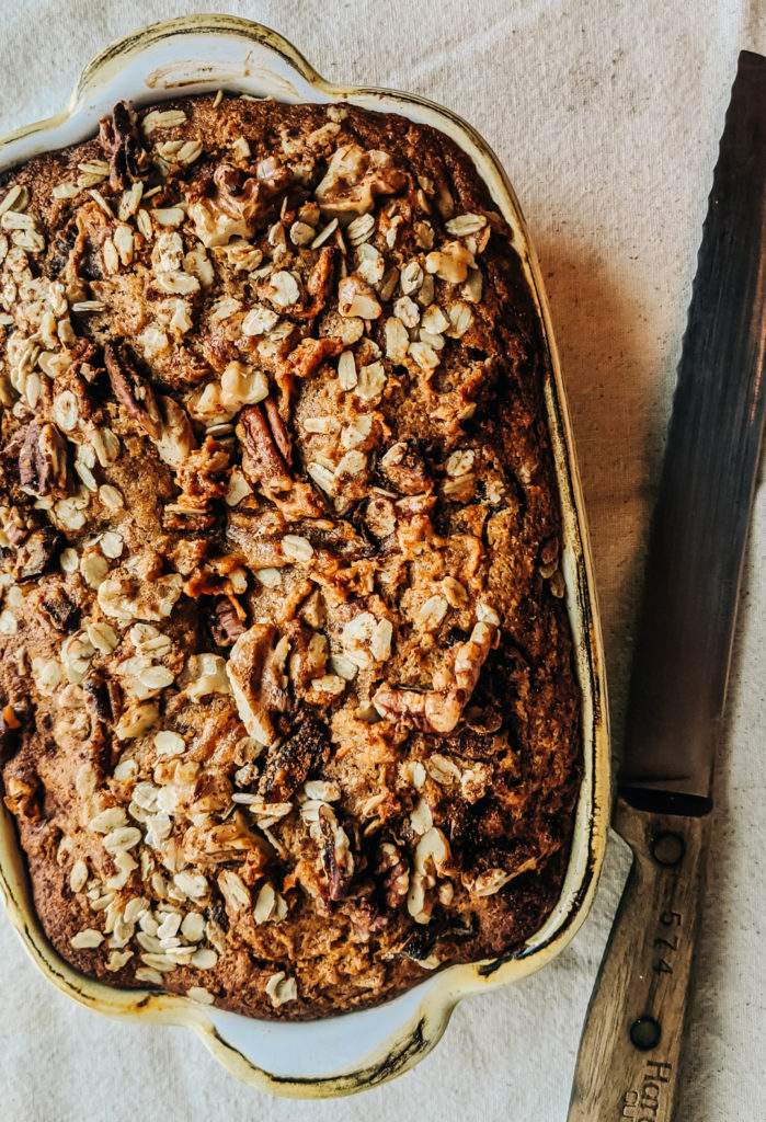 Spiced Carrot & Date Loaf