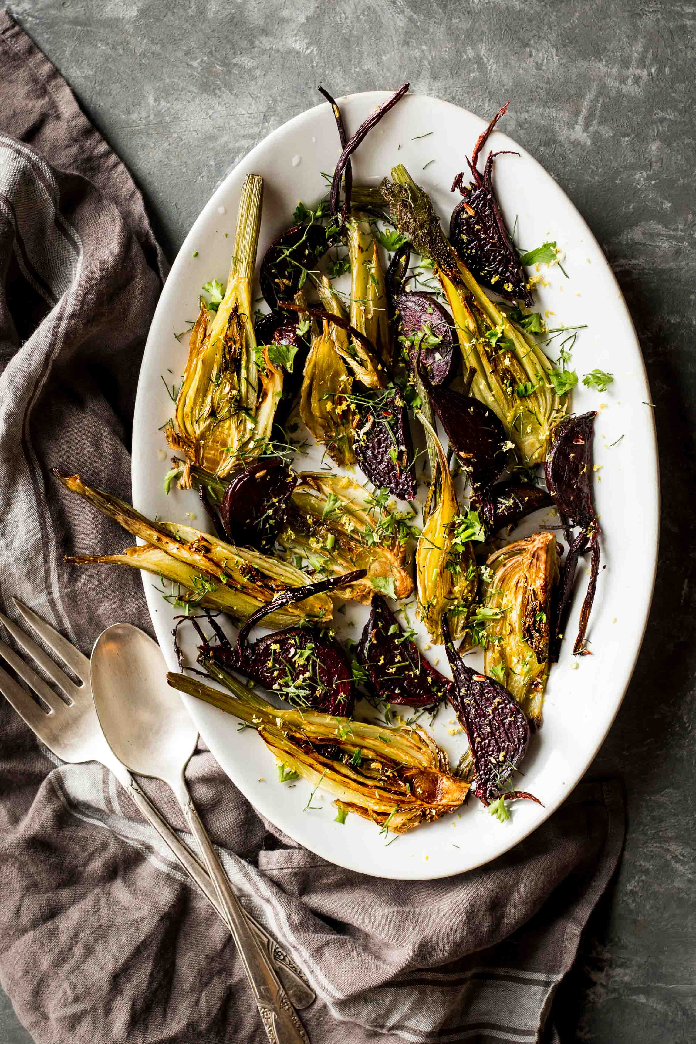 roasted fennel beets dishing up the dirt